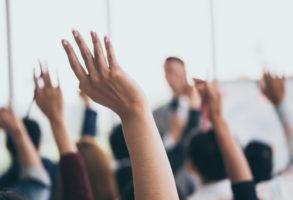 Audience Raiding Hands